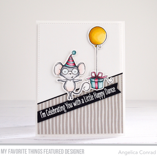 Handmade card by Angelica Conrad featuring products from My Favorite Things #mftstamps