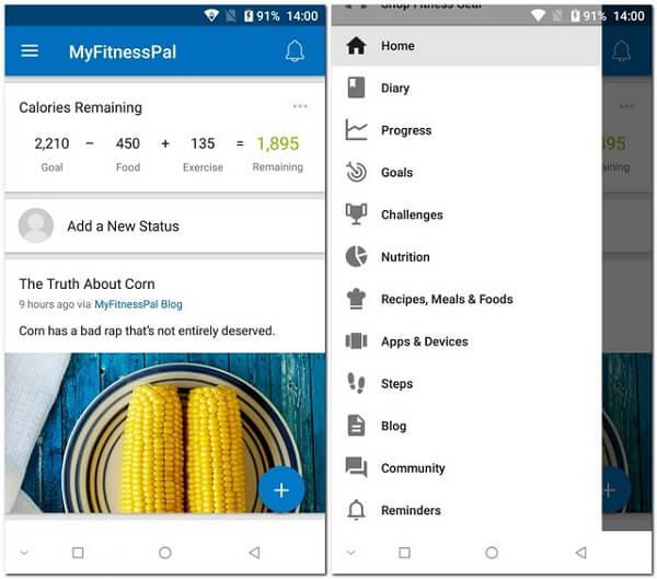 أفضل 5 تطبيقات لعد السعرات الحرارية لهواتف الأندرويد