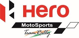 Hero Motosports team riders-C.S.Santosh and Joaquim Rodrigues finish a tough day at Dakar