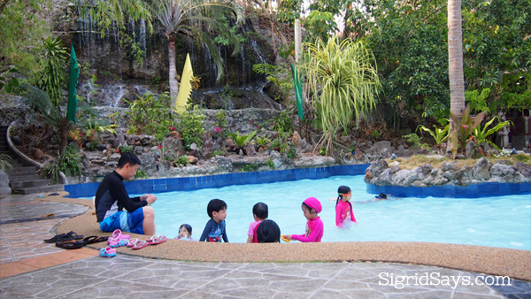 Dakak Beach Resort freshwater pool
