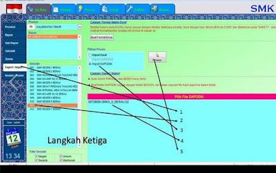Cara Import File DZ dari Web PDUN ke Aplikasi BIO UN