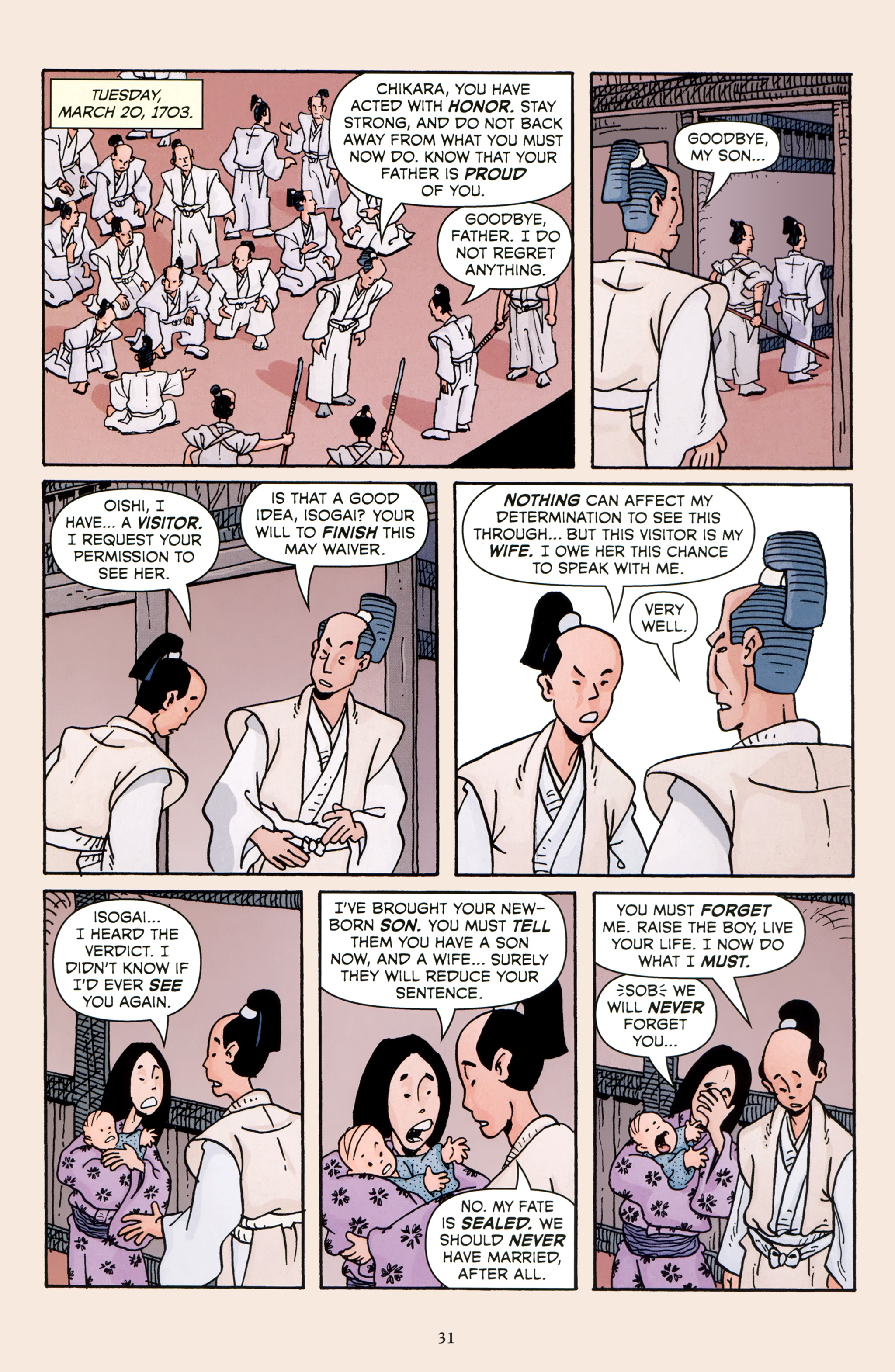 Read online 47 Ronin comic -  Issue #5 - 34