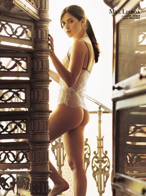 Fotos de Mel Lisboa nua pelada na Playboy