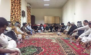مدير مكتب الشهيد الصدر العام في النجف يلتقي بمفاصل التيار الصدري في ميسان