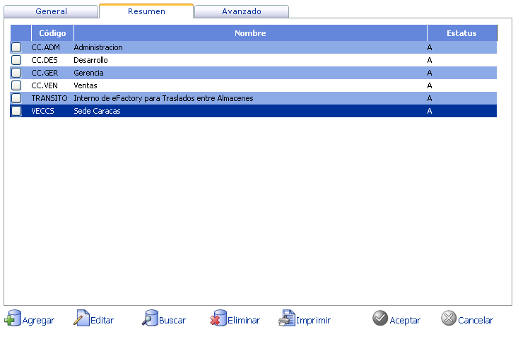 eFactory ERP - Software ERP para el cloud computing