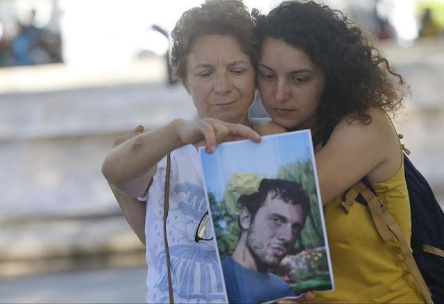 Isabel e Paola Tormo, mãe e irmã de espanhol desaparecido em 2015 na Chapada; diário encontrado (Foto: Marina Silva/Arquivo Correio)