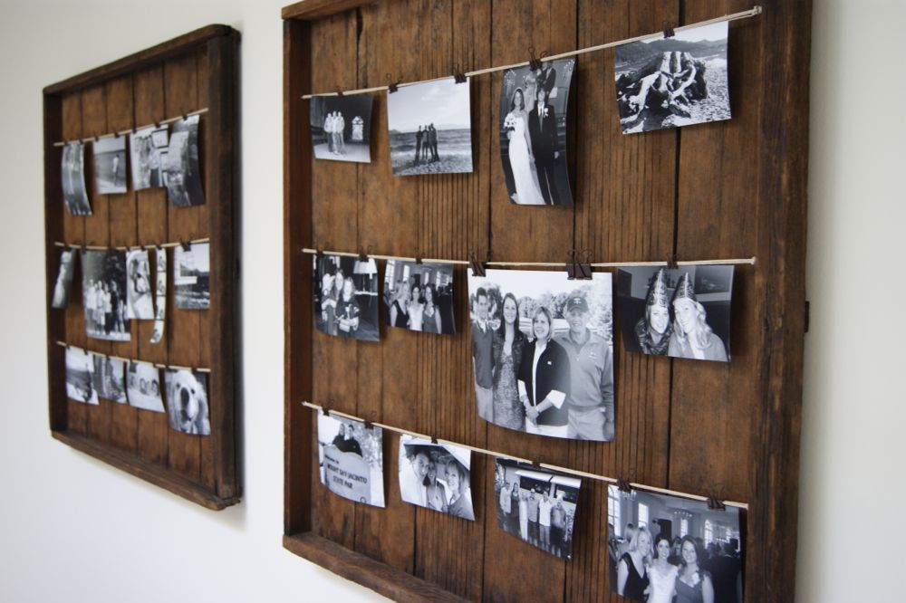 diy picture frame - Diy Rustic Picture Frame