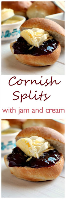 Cornish Splits with jam and clotted cream