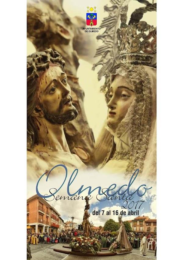 Programa, Horarios e Itinerarios Semana Santa Olmedo (Valladolid) 2017