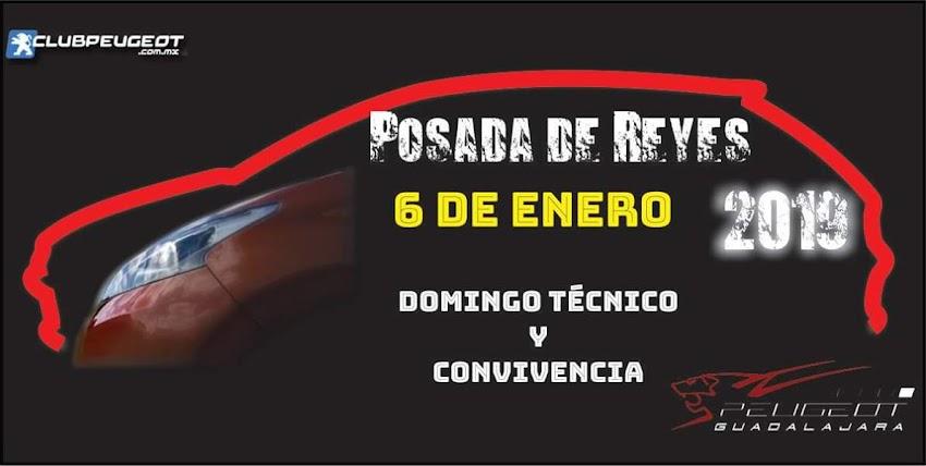 Posada de Reyes  Club Peugeot Guadalajara