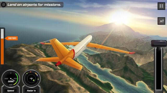 Game simulasi pesawat terbang terbaik di android