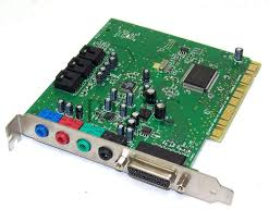 Gambar komponen Komputer (Sound Card)