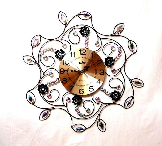 đồng hồ trang trí treo tường Deco V03