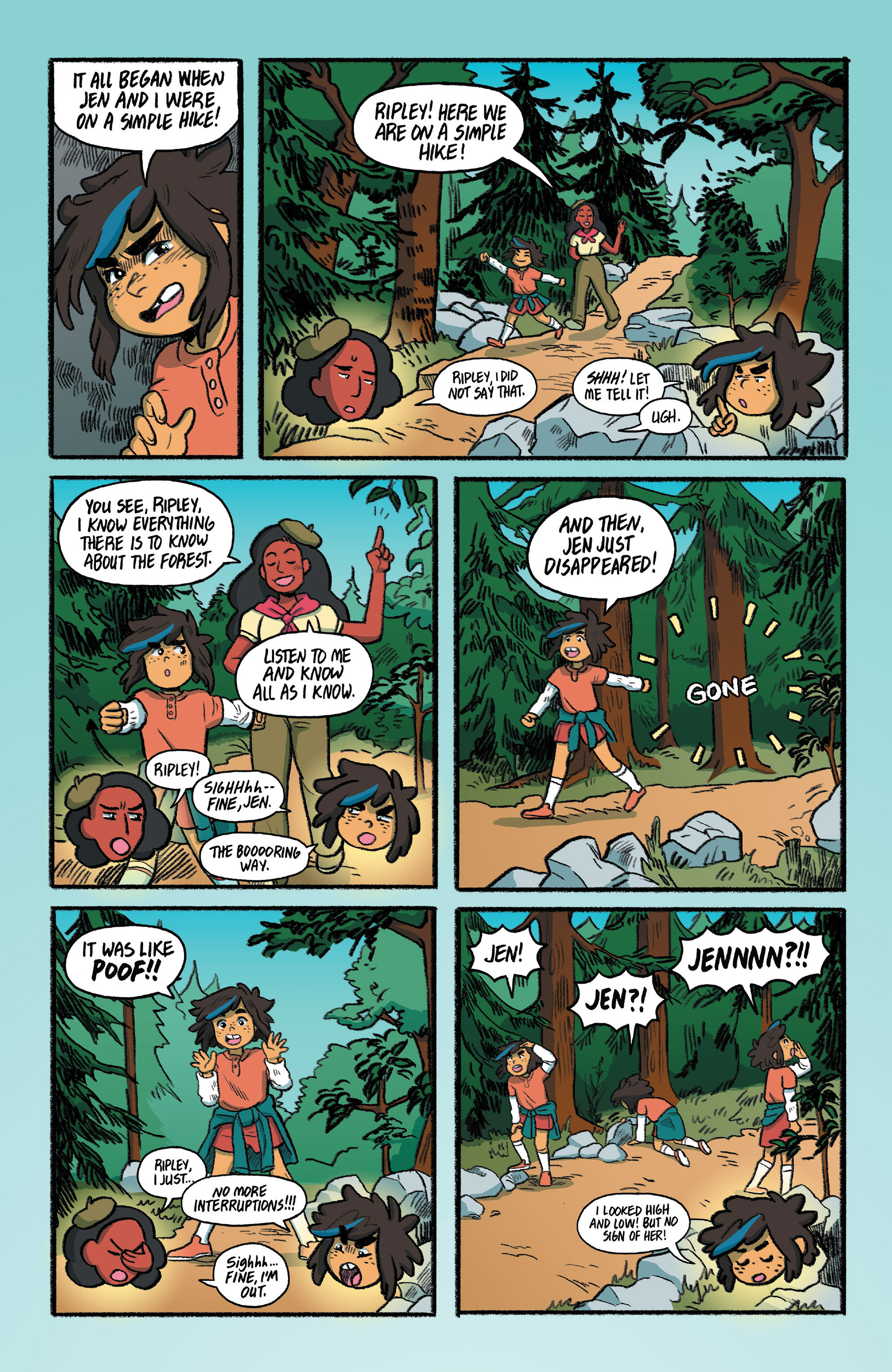 Read online Lumberjanes: Makin' the Ghost of It 2016 Special comic -  Issue # Full - 36
