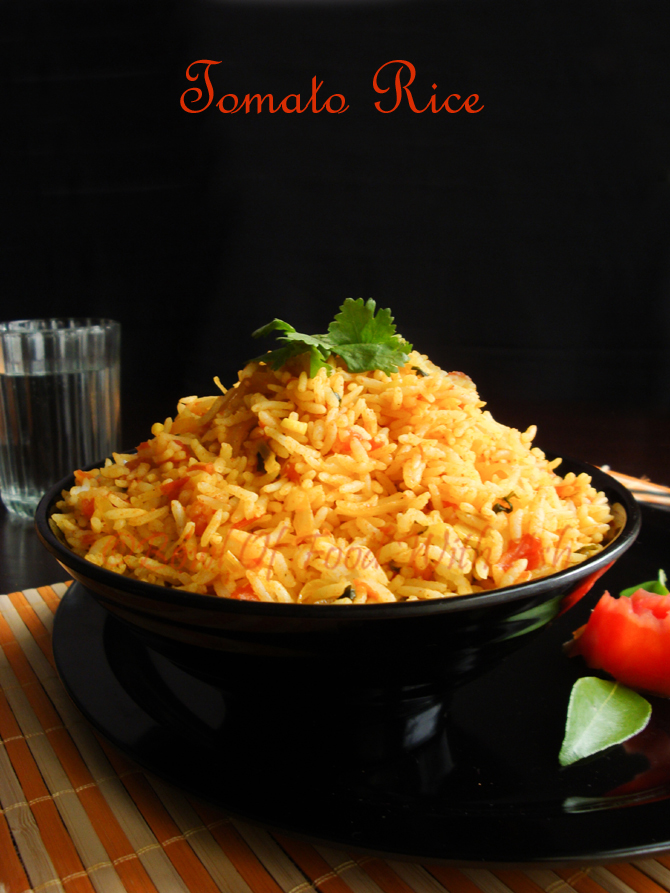 Bowl of food with ash tomato rice recipe how to make south indian tomato rice recipe how to make south indian style tomato rice forumfinder Gallery