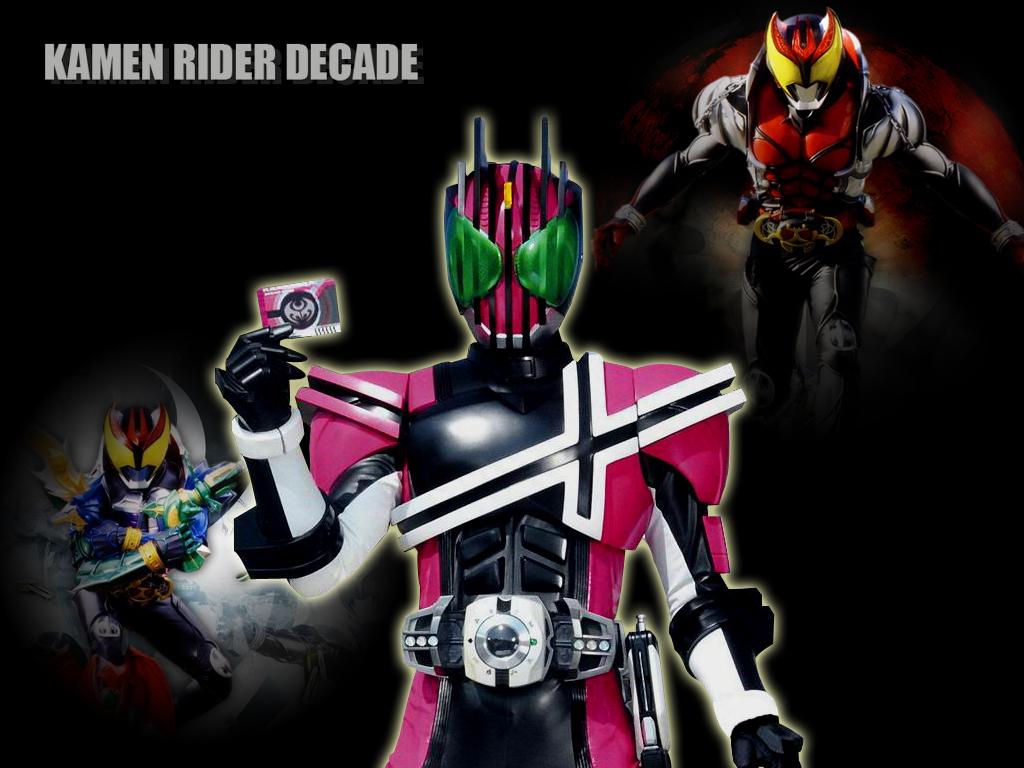 Kamen Rider Decade (Kiva Form) - Tokusatsu Wallpaper