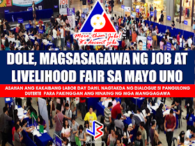 """Good news to all jobseekers! DOLE announced that they are going to hold a job and business/livelihood fare this coming May 1, 2017 on the relocation areas of the National Housing Authority (NHA). More than 50 simultaneous jobs aand livelihood fares will be put up in time with the Labor Day celebration on May 1. Aside from the annual job fair, DOLE will also conduct forum and seminars that will provide services and promote entrepreneurship at the grassroots level. DOLE revealed that it is in close coordination with the NHA so that the labor department can put up a special job fair in selected relocation areas in Regions 3, 4-A and NCR. DOLE said they recognized the problem of those who are dwelling on relocation areas who find it hard to have a job access due to the location of these areas. They are far from cities and urban areas. The Department said that they will coordinate with the residence prior to the fare so that the jobs they would offer will match their interests and skills. Meanwhile, Labor Secretary Silvestre Bello III said that they will welcome any labor groups which may hold protests on labor day. He said rallies are medium that enable the government to know the sentiments of the labor groups.  This labor day will be the first since President Rodrigo Duterte took office. Sec. Bello said that this labor day will be different from the past celebrations because President Rodrigo Duterte has scheduled a dialogue between trade union and labor groups. RECOMMENDED: The Technical Education and Skills Development Authority (TESDA) has announced that it is going to give an on-site assessment to overseas Filipino workers (OFWs) who are bound for the Middle East.  Secretary Guiling """"Gene"""" Mamondiong, TESDA Director-General said that the Onsite Assessment Program (OAP) aims to find out if the OFWs possess the competencies required in a preferred work.  Mamondiong disclosed that a delegation from TESDA will go to the Middle East to conduct the onsite assessment in c"""