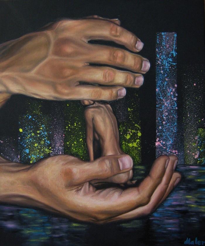 Молодой художник из Белоруссии. Инна Болундь