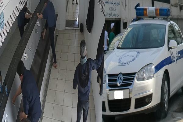 القبض على خمسيني يترصد سيارات المصلين بمساجد الشلف