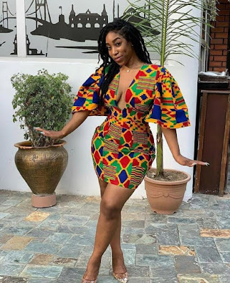 with its quality traced back to the Republic of Ghana ✘ 39 Latest African Kente Styles Attires For Wedding Parties