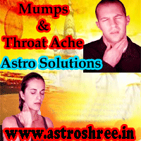 Throat ache astrology reasons and remedies, Mumps astrology reasons and remedies, Powerful ways to over come from Mumps and throat ache, Disease and astrology, Astrologer For Chronic Diseases.