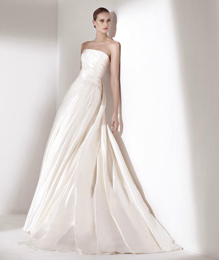 guia tipos de telas de vestidos de novia - blog mi boda - tela tafetan taffeta
