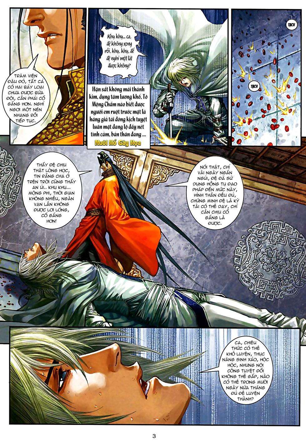 Ôn Thuỵ An Quần Hiệp Truyện Phần 2 chapter 32 trang 4