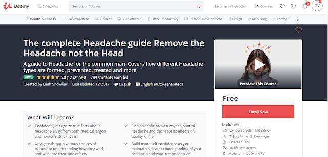 The complete Headache guide Remove the Headache not the Head
