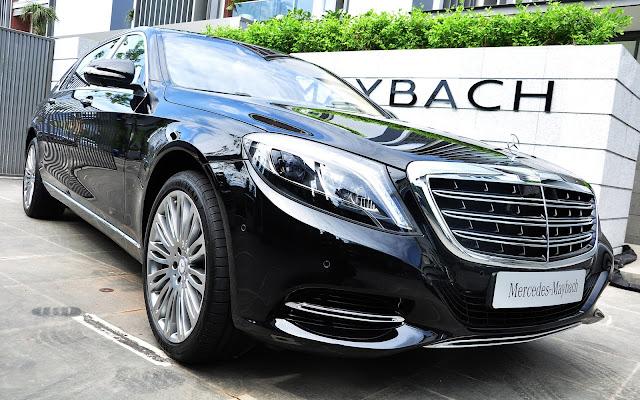 Mercedes Maybach S500 luôn cuốn hút từ ngoại thất cho đến nội thất bên trong