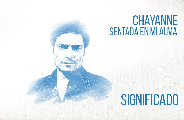 Sentada En Mi Alma significado de la canción Chayanne.