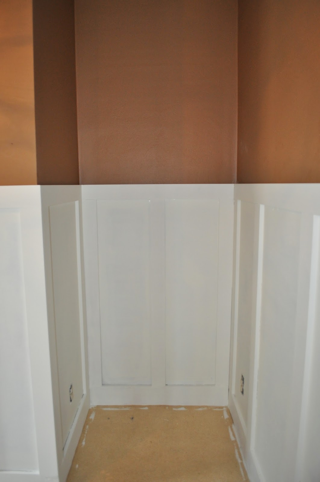 wainscoting bedroom reno dutch boy white lullaby paint diy trim