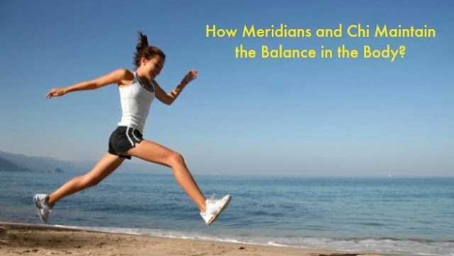 How Meridians and Chi Maintain the Balance in the Body?