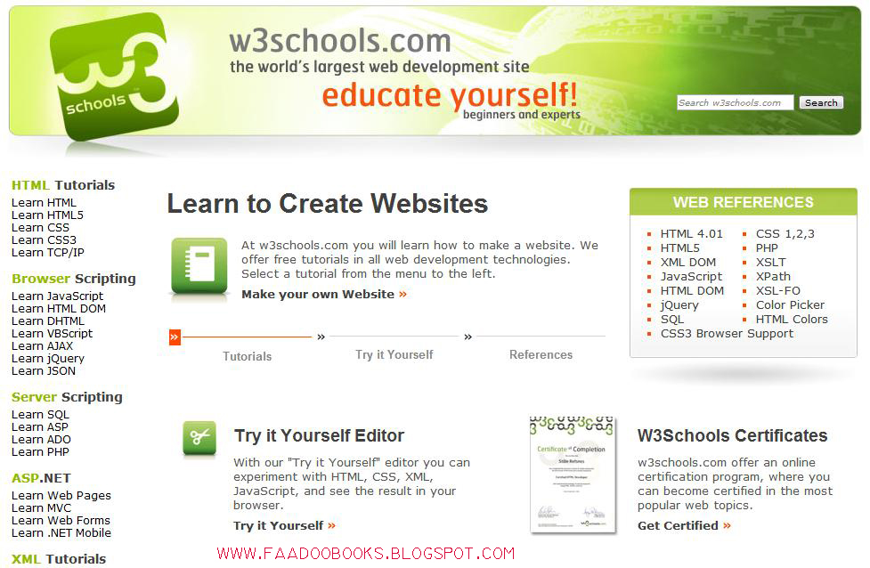 How To Sql Pdf From W3schools