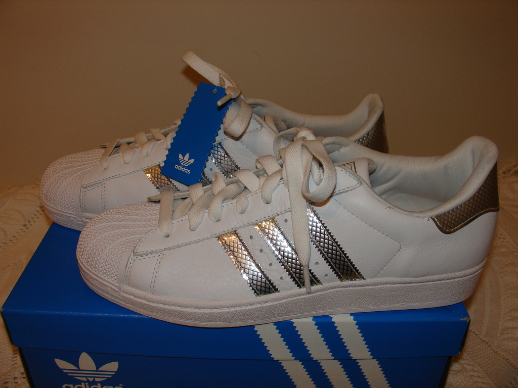 Adidas White Cloth With Lace Shoes