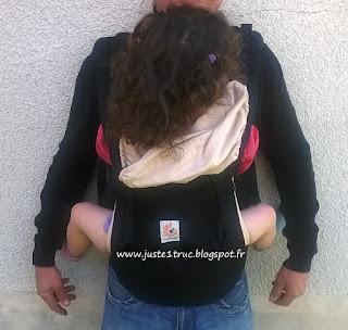 Ergobaby Original portage babycarrier préformé avis test