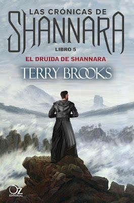 LAS CRÓNICAS DE SHANNARA #5 El Druida de Shannara. Terry Brooks (Oz Editorial - 13 Septiembre 2017) | NOVELA FANTASIA EPICA portada libro español