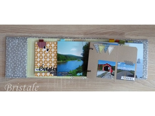 mini album scrap gaspesie atelier edwige bufquin - photo 11