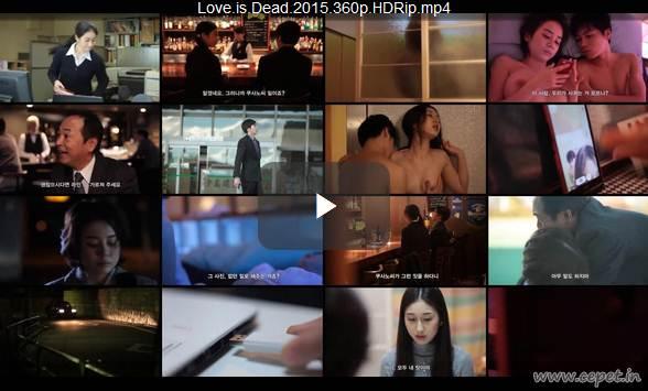Love is Dead (2015) 360p HDRip 170MB - Film Korea