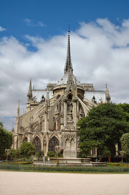 Paris And Cathdrale Notre Dame De