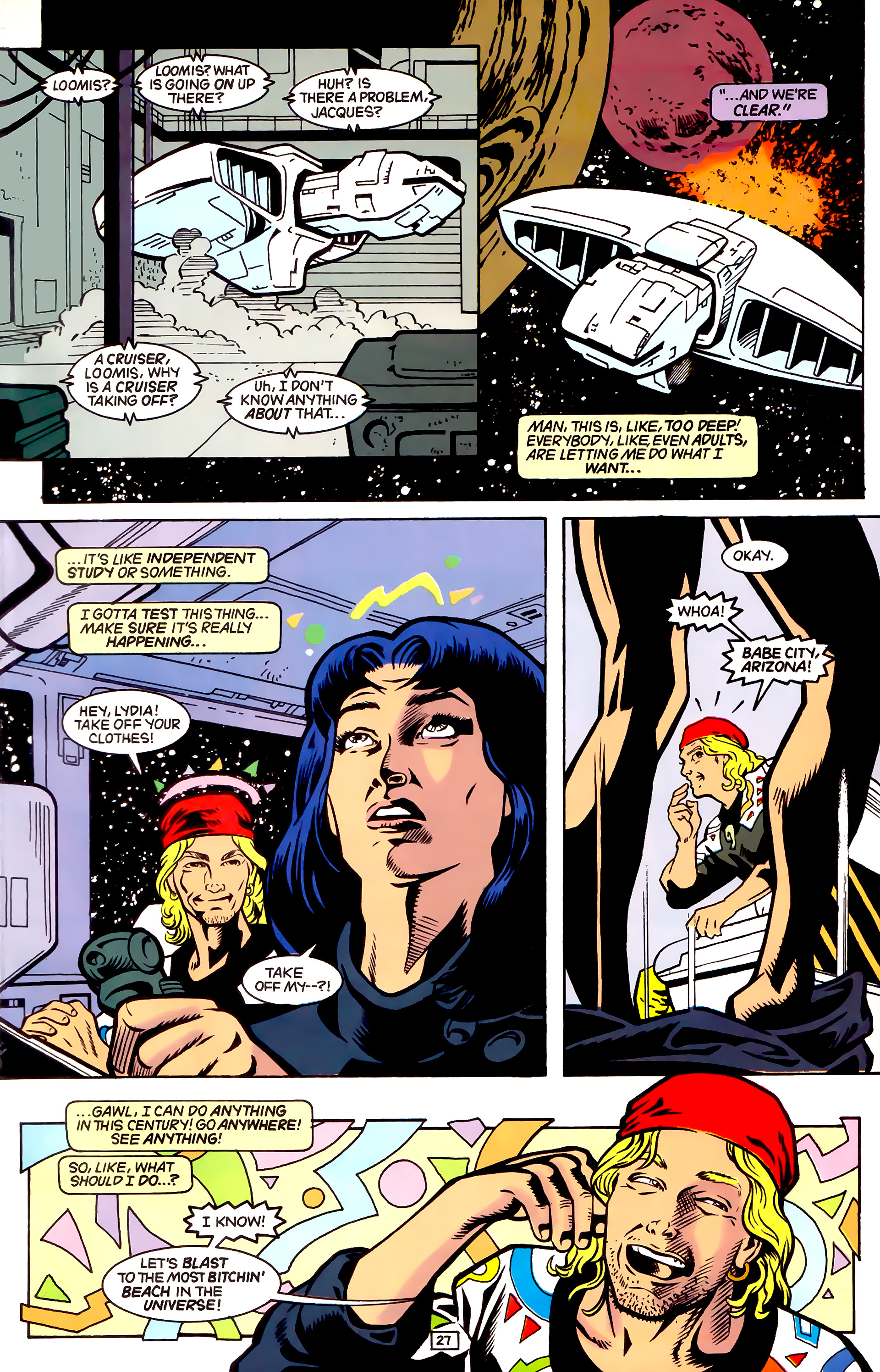 Legion of Super-Heroes (1989) _Annual_4 Page 27