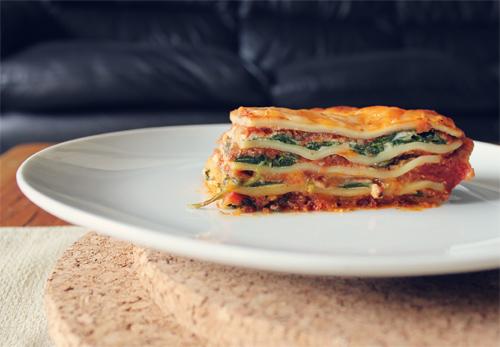 Meatless Vegetarian Lasagna