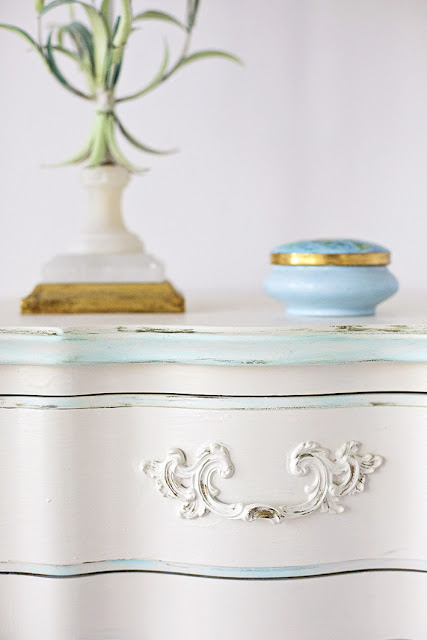 vintage french nightstands