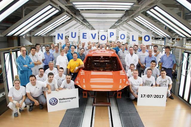 Novo VW Polo 2018 - linha de produção