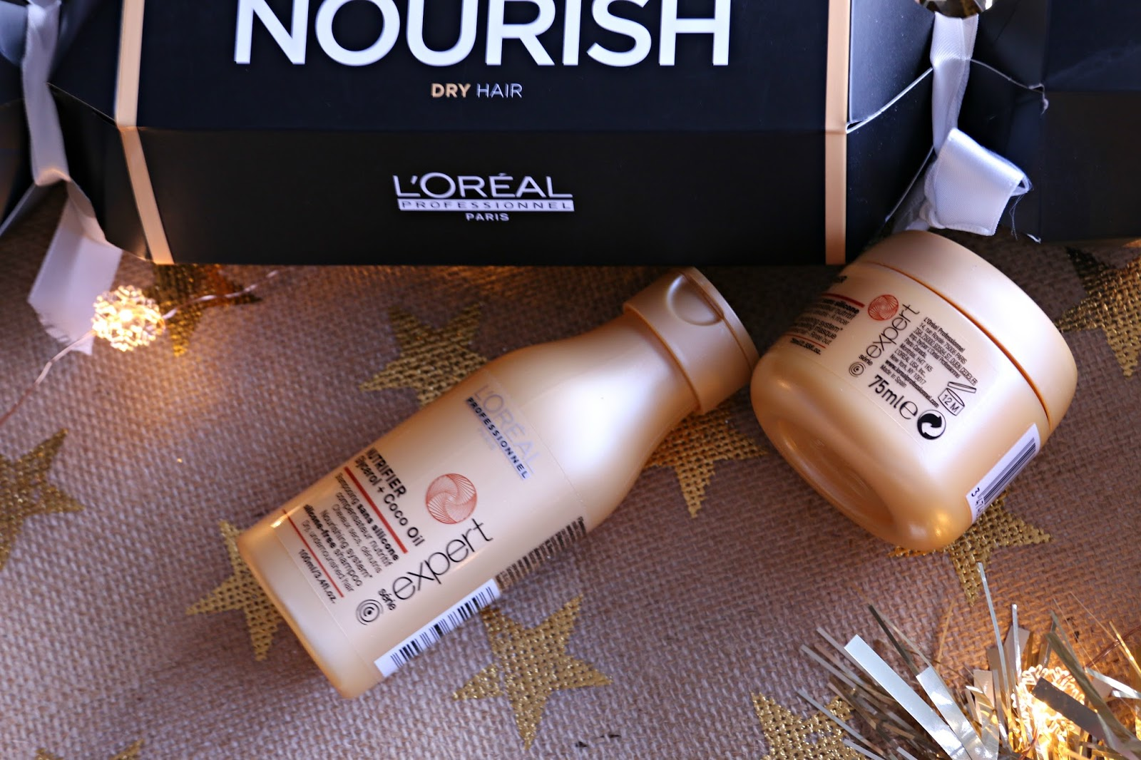 L'Oreal Professionnel Cracker Série Expert Nutrifier shampoo and conditioner Image