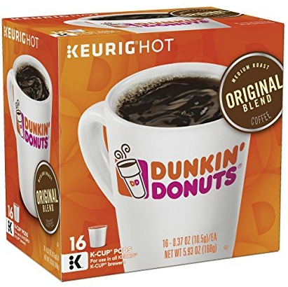 Daily Cheapskate Dunkin Donuts Original Blend Kcups for 37 cents