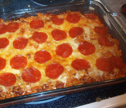 weight watchers recipes , Pizza Pasta Casserole , 5 Smartpoints