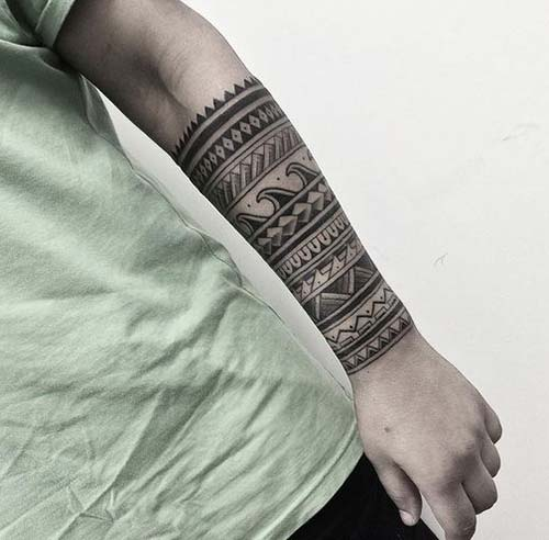 maori tribal dövmeler tattoos 8