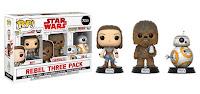 Pop! Star Wars: The Last Jedi - Rebel 3pk (Costco)