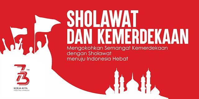 Desain Pentas Sholawat dan Kemerdekaan