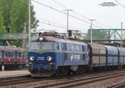 Lokomotywa ET22-969, PKP Cargo, stacja Oświęcim